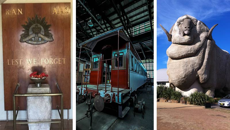 War Memorial | Rail Heritage Centre | The Big Merino
